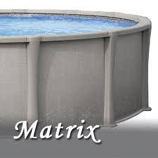 Seaspry matrix steel wall pool